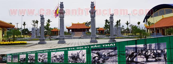 Di dơi và trồng cây xanh khu di tích 915 Thái Nguyên