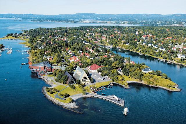 Oslo, Na Uy cay xanh, trong cay xanh, cay bong mat