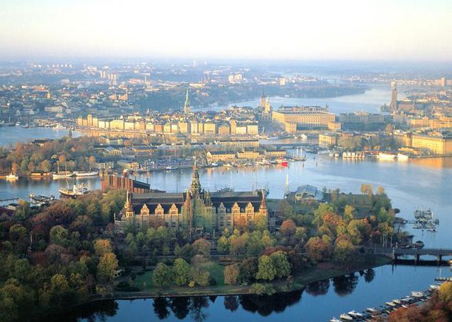 Stockholm Thuy Dien cay xanh trong cay xanh cay bong mat