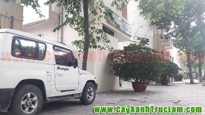 Chiếc xe Zip Wrangler tại trung tâm viện khoa học Việt Đức - Đại Học Bách Khoa Hà Nội