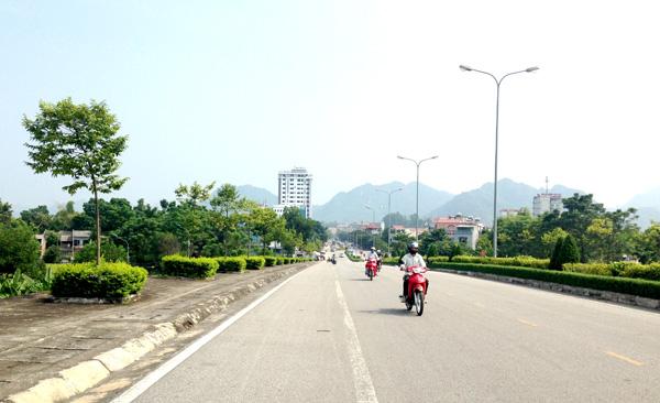 Tuyên Quang quy hoạch thay thế cây xanh bóng mát với mục tiêu trở thành đô thị loại II năm 2020